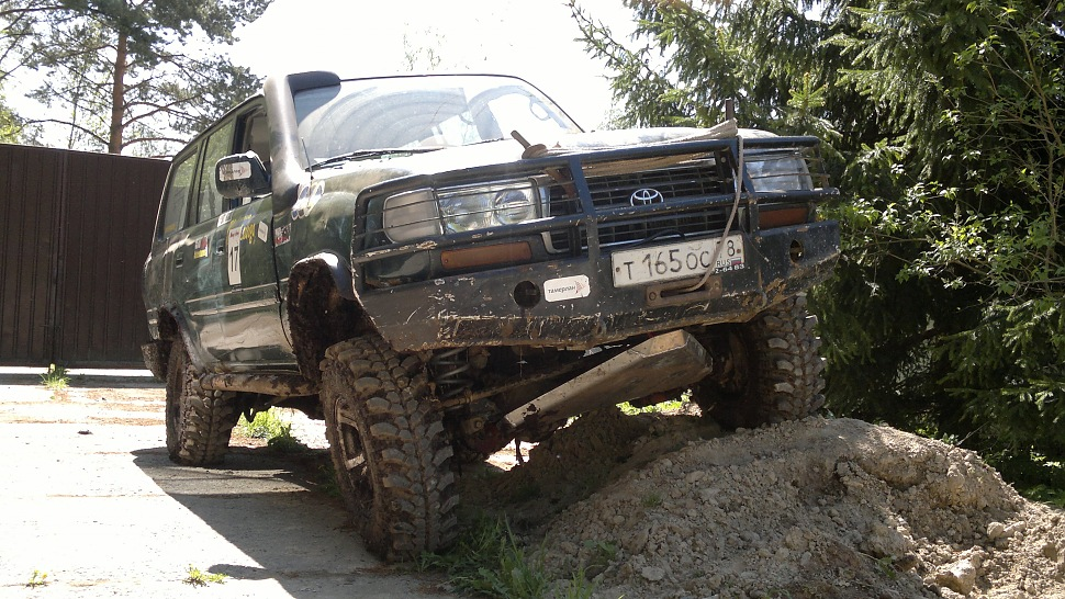лифт комплект подвески toyota land cruiser 80