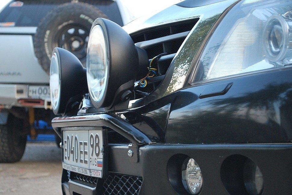 Cиловые бамперы Toyota Hi-lux серия Л