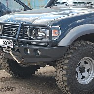 Передний силовой бампер Toyota Land Cruiser 80