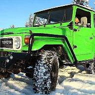 Подготовка Toyota land Cruiser BJ40