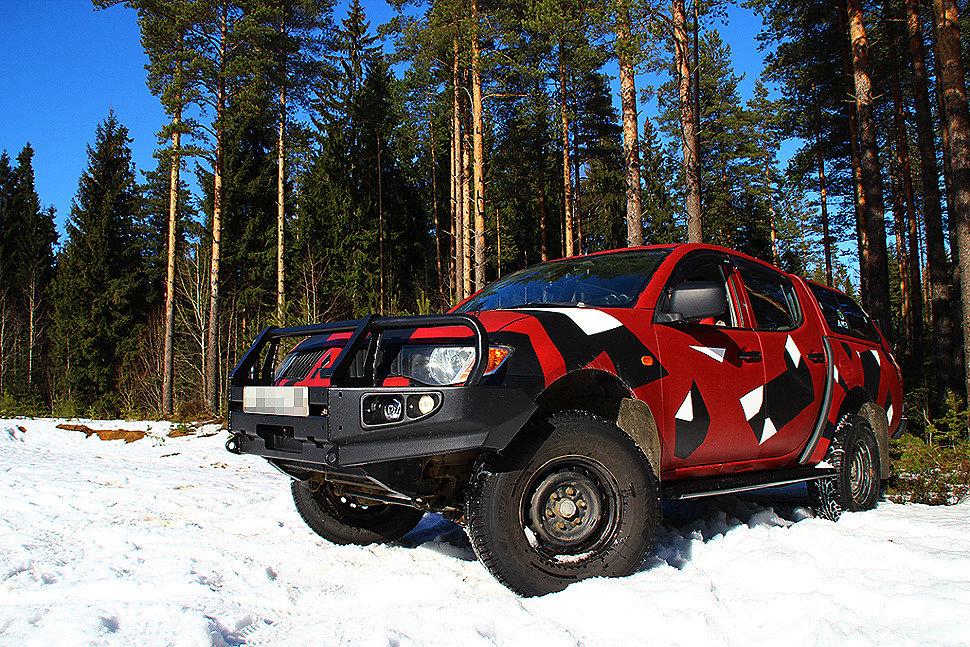 Силовой обвес Mitsubishi L200