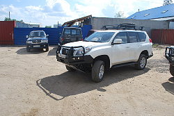 Силовой обвес Toyota Land Cruiser Prado 150