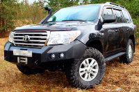 Силовой бампер передний Toyota Land Cruiser 200 до 2016 (серия Д)