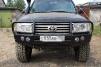 Силовой бампер передний Toyota Land Cruiser 100 (серия Т)