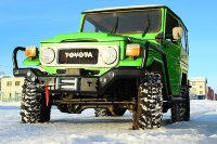 Силовой бампер передний Toyota Land Cruiser 40 (серия С)